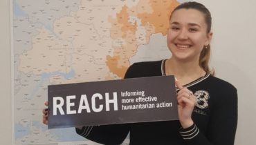 Leaving eastern Ukraine to work with REACH in Kyiv – Alya's story