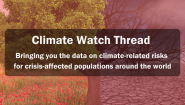 Climate Watch: Data on Climate-Related Risks in Vulnerable Contexts